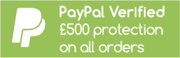PayPal Verfied, £500 Protection on all orders